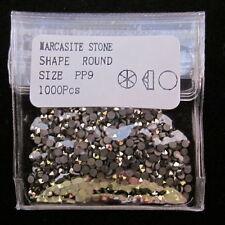 LOOSE MARCASITE STONES 1000pcs SIZE 1.5mm PP9 Premium AA Grade