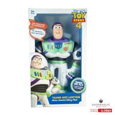 Disney Toy Story 4 Buzz Lightyear Motion Activated Talking Plush