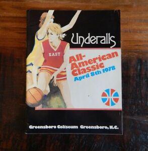 1978 WOMENS ALL-AMERICAN CLASSIC COLLEGE BASKETBALL PROGRAM LIEBERMANMEYERS ++