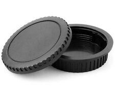 HOT New Body Front + Rear Lens Cap Cover for Canon EOS EF EF-S Lens DSLR Camera