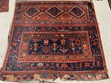 Antique Kurdish Turkish? Bag Oriental Rug