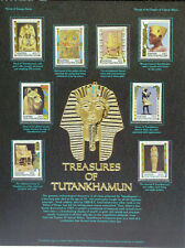 Treasures of Tut Stamps of Central Africa Stamp Poster