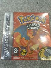 Pokemon Fire Red Version BRAND NEW AND SEALED NINTENDO RED STRIP
