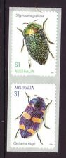 AUSTRALIA 2016 JEWEL BEETLES -  P&S Self Adhesive set of 2 MNH from the Coil