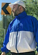 Vintage Augusta Sportswear Blue & White Windbreaker Breathable Size L Streetwear