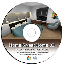 3D Home Interior Design House Architect Software-Kitchen Bathroom Bedroom CAD--