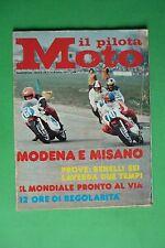 IL PILOTA MOTO 7 1974 PROVA SU STRADA BENELLI SEI CILINDRI MOTO LAVERDA 250 2T
