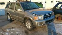 Passenger Front Door With Moulding Electric Fits 01 PATHFINDER 341162
