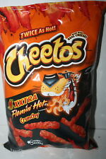 Cheetos XXTRA Flamin' Hot Crunchy Cheese Flavored Snacks 240.9g bag