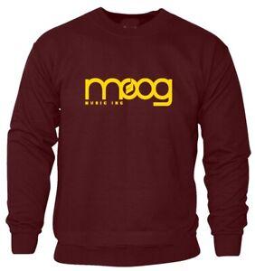 MOOG Sweatshirt Music DJ Printed inspired Graphic Cool POP Hip Hop Top Gift