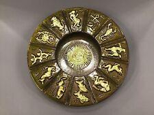 Vintage MCM Maddux Cali Pottery Green Zodiac Bowl Horoscope Galaxy USA Ashtray