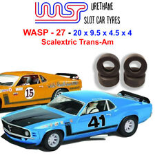 WASP 27 - Urethane Slot Car Tyres - Scalextric Trans-Am