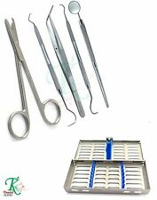 Surgical doctor nurse student suture removal scissors fastening kit 7