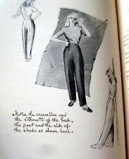 Rare Vintage 1940s Sewing Book Modern Tailoring For Women 1947