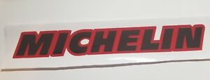 Michelin decal Sticker Red/ with Black Chrome for Jeep Ram Chevy Ford