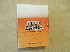 Beer Playing Cards. Full Deck of Playing cards.