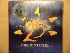 Cirque Du Soleil   25 Years of Cirque Du Soleil  2 Disc set New sealed
