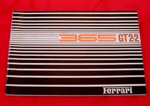 Ferrari 365 GT2+2 Series I - Original Spare Parts Manual 1968 - Ita/Fr/Eng Text