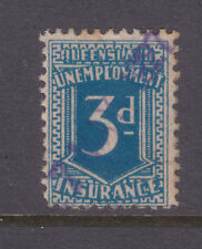 Qld: 3d Deep Blue Unemployment Insurance Used