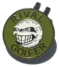 Hat Clip with Olive 'Rebellious' Ball Marker