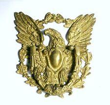 American Eagle Door Knocker Gold colorl Original Home Decor Antique Cast Iron