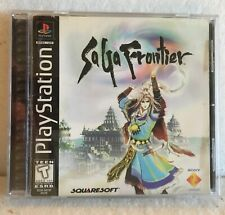 SaGa Frontier Sony PlayStation 1, 1998 Complete PS1 Black Label Tested And Works