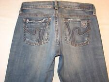 Citizens of Humanity Boho 111 Jeans Sz 25  Distressed Low Bootcut Stretch
