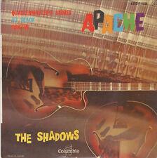 "7"" FRENCH EP 45 TOURS THE SHADOWS ""Apache / Jet Black / Driftin' +1"" 1960"