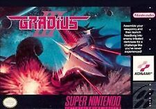 Gradius III (Super Nintendo Entertainment System, 1991) VG - CART ONLY