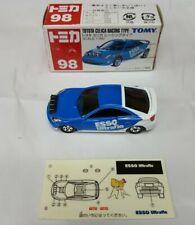 TAKARA TOMY TOMICA TOYOTA CELICA RACING TYPE No. 98 Rally Car Blue S: 1/60