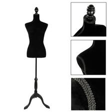 Female Mannequin Torso Dress Clothes Form Display White For Showing Clothes
