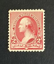 Us Stamp, Scott #220, 2c 1890, M/Nh Xf and extremely fresh, large margins