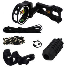 Compound Bow Upgrade Kit Archery Hunting Stabilizer Optic Sight Arrow Rest Peep
