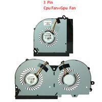 NEW CPU Fan & GPU fan Für Clevo P950 P950HR P950ER P955ER P950HP 4 wire & 3 wire