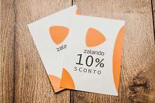 Codice Sconto Coupon Voucher ZALANDO -10%
