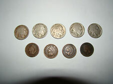Buffalo Head Nickels and Indian Head Pennies
