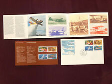 Canadian First Day Covers Flying Boats Aircraft 1979