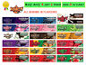 Juicy Jays King Size Slim FRUITY Flavoured Rolling Papers RIZLA SKINS