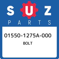 01550-1275A-000 Suzuki Bolt 015501275A000, New Genuine OEM Part