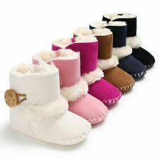 Warme Winterschuhe 0-18M Neugeborene Baby Mädchen Schneeschuhe