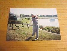 Hugh Baiocchi Autographed/Signed 4X6 Photograph PGA Golf