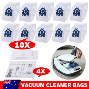 10x Vacuum Cleaner Bags For Miele GN HYCLEAN 3D EFFICIENCY C2 C3 S2 S4 S5 S6 S8
