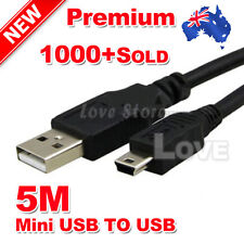 5M Mini USB Cable Extension Data Cable Mini USB Cord Micro USB2.0 High Quality