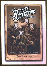 Strange Detective Mysteries by Pavlet, Gafford & Battiloro-1st Print-Steampunk