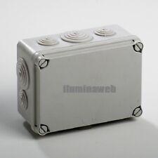 Caja de empalme estanca 150x100 para exterior, IP65, con conos, IDE Spain