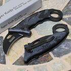 Tac Force Karambit Black Camouflage Tactical Spring Action Pocket Knife w/Ring
