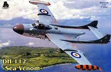 Iom Set Dh-112 Sea Venom Model Kit 1:72 Nip D.H.Marine Navy Tip Tarpaulin