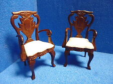 1/12 Scale Dolls House Quality Furniture Pair of Chair Dhd63224a