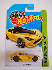 Hot Wheels 2013 SRT VIPER YELLOW HW WORKSHOP