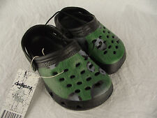 BNWT Little Boys Sz 6 Rivers Doghouse Brand Soccer Ball Clog Beach Sandals Shoes